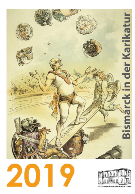 Wandkalender 2019 - Bismarck in der Karikatur