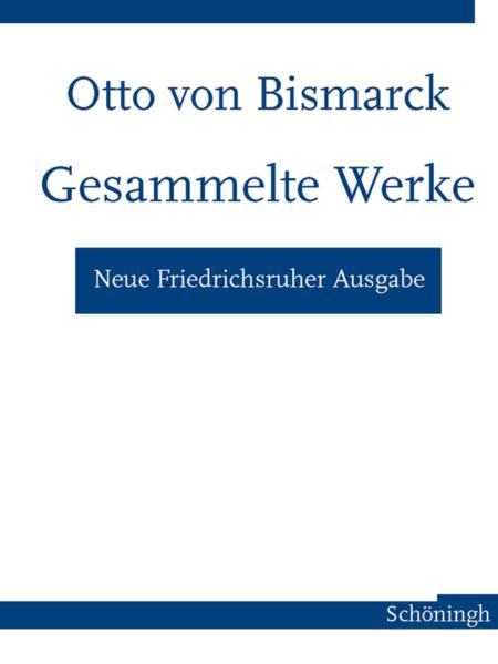Neue Friedrichsruher Ausgabe